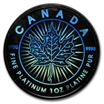 2002 1 oz Hologram Platinum Maple Leaf