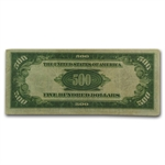 1934-A (J-Kansas City) $500 FRN (PCGS Very Fine 30)