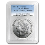 1921-D Morgan Dollar MS-62 PCGS VAM-1A In God We Tru-t