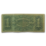 1886 $1 Silver Certificate Martha Washington (Fine)