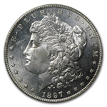 1897-S Morgan Dollar - MS-64 Proof Like PCGS - CAC