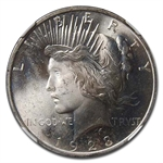 1923 Peace Dollar MS-65 NGC - Toned
