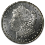 1893-CC Morgan Dollar - MS-61 PL Proof Like PCGS