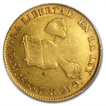 Mexico 1863/53 Gold 8 Escudos PCGS Genuine
