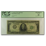 1934-A (K-Dallas) $500 FRN (PCGS Very Fine 30 App)