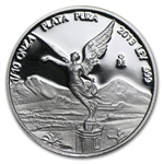 2013 1/10 oz Silver Libertad - Proof (In Capsule)