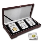 2011 Israel Dead Sea Gold & Silver 3 Coin MS/PF-70 Set