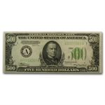 1934 (A-Boston) $500 FRN (Very Fine+)