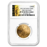 2013-W 1 oz Proof Gold American Eagle PF-70 NGC