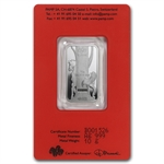 10 gram Pamp Suisse Silver Bar - Year of the Horse (In Assay)