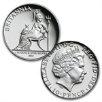 2013 5-coin Silver Britannia Set - Proof (w/box & CoA)
