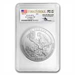 2012-P 5 oz El Yunque SP-70 First Strike PCGS John Mercanti Label