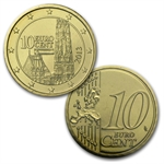 2013 Official Austrian Euro Coin Set In Blister Pack