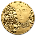 2012 Adele Bloch-Bauer 50 Euro Proof Gold Coin