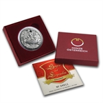 Charlemagne In The Untersberg 10 Euro Silver Proof Coin ASW 0.475