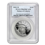 1 oz Proof Platinum American Eagle PCGS/NGC PR-69 (Random Year)