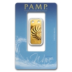 Nautilus - 1/5 oz Proof Gold Pamp Ingot Pendant