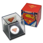 2013 1 oz Silver Canadian 75th Anniv. of Superman™ - The Shield