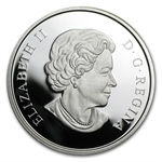 2011 Ultra-High Relief Silver Canadian $15 - The Prince William
