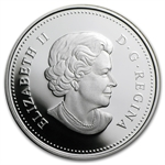 2010 Limited Edition Proof Silver Canadian $1 - Enameled Poppy