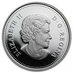 2010 Silver Canadian Dollar - 100th Anniv. of the Canadian Navy