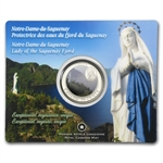 2009 Canadian $0.25 Notre-Dame-Du-Saguenay - Coloured Coin