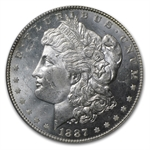 1887/6 Morgan Dollar MS-63 PL Proof Like PCGS