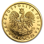 Poland 2003 Gold 100 Zlotych (Proof) Wladyslaw III