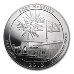 2013 5 oz Silver ATB Fort McHenry (Monster Box #4)