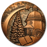 2012 Weihnachtsmedaille 70mm Silent Night Christmas Medal