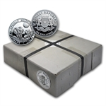 2014 1 oz Silver Somalian Elephants (500-Coin Sealed Box)