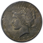 1923-S Peace Dollar AU-53 NGC - GSA Certified Soft Pack