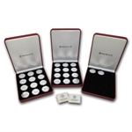 Isle of Man 1 oz Silver Proof Cat Complete 26 Coin Set 1988-2013