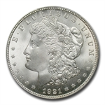 1921 Morgan Dollar - MS-66+ Plus PCGS - CAC