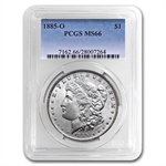 1885-O Morgan Dollar - MS-66 PCGS Beautiful Toned Reverse