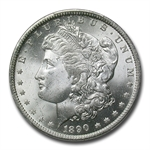 1890-O Morgan Dollar - MS-64 PCGS - CAC