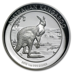 2013 1 oz Proof Silver High Relief Kangaroo PF-70 UCAM NGC