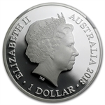2013 1 oz Proof Silver Kangaroo in Outback F15 Privy PF-70 UCAM