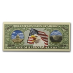 Novelty $1,000,000 Bills - Liberty (10 Count)