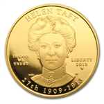 2013-W 1/2 oz Proof Gold Helen Taft (w/Box & CoA)