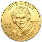 2013-W 1/2 oz Uncirculated Gold Edith Wilson (w/Box & CoA)