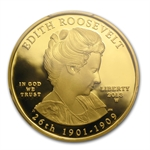 2013-W 1/2 oz Proof Edith Roosevelt PCGS PR-70DCAM FS