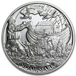 Palau 2013 $2 Proof Silver Biblical Stories - Noah's Ark