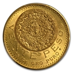 Mexico 1917 20 Pesos Gold PCGS MS-63