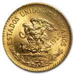 Mexico 1920/10 20 Pesos Gold Coin - MS-64 PCGS