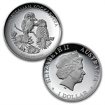 2013 1 oz Proof Silver Australian High Relief Collection