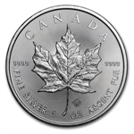 2014 1 oz Silver Canadian Maple Leaf