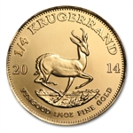 2014 1/4 oz Gold South African Krugerrand