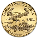 2014 1/10 oz Gold American Eagle Brilliant Uncirculated