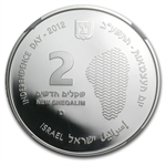2012 Israel Sea of Galilee Silver 2 NIS PF-69 NGC UCAM